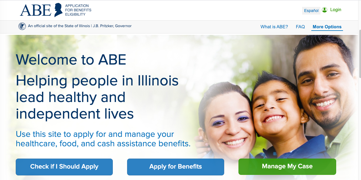 """Apply for Illinois Food Stamps online"""
