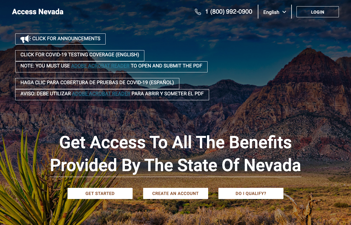 """Apply for Nevada Food Stamps Online"""