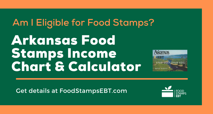 """""""Arkansas Food Stamps Income Chart and Calculator"""""""