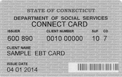 """""""Connecticut EBT Card"""""""