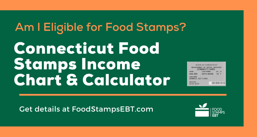 """""""Connecticut Food Stamps Income Chart and Calculator"""""""