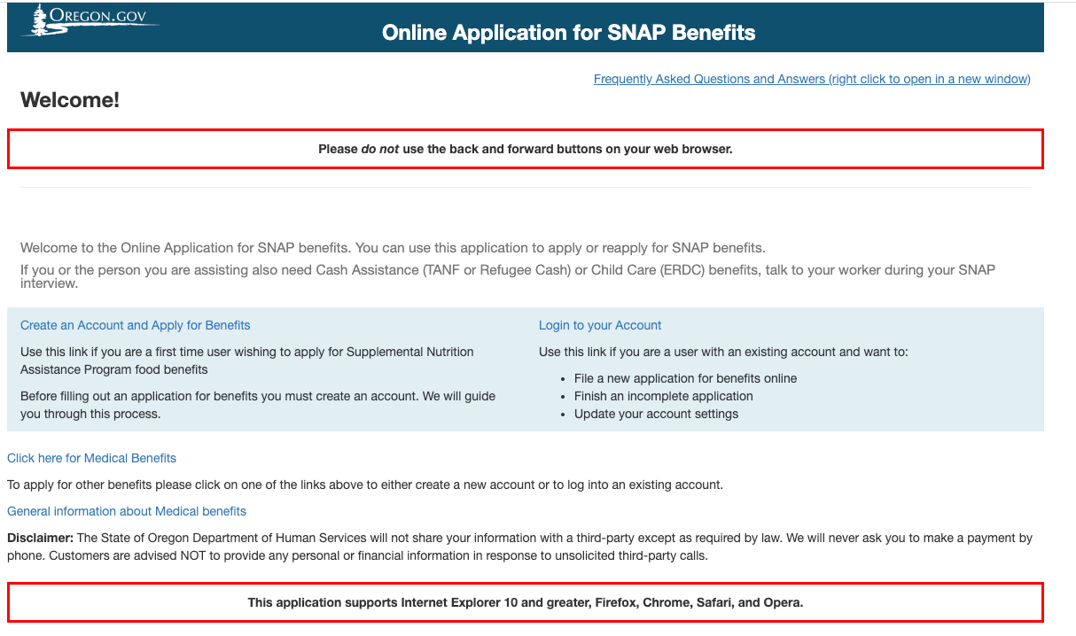 """How to Apply for Oregon Food Stamps Online"""