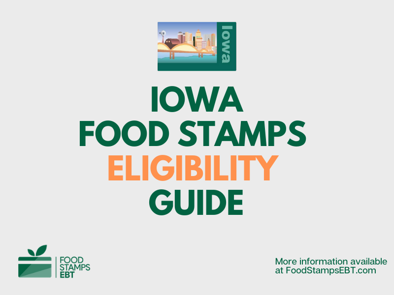 """""""Iowa food Stamps Eligibility Guide"""""""