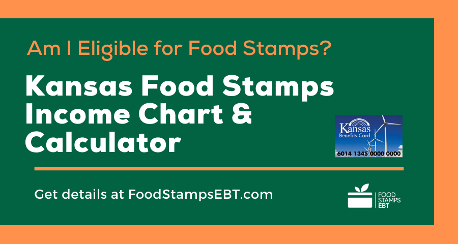 """Kansas Food Stamps Income Chart and Calculator"""