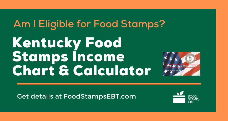 """Kentucky Food Stamps Income Chart and Calculator"""