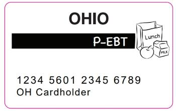 """""""Ohio P-EBT Card"""""""