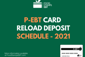 """""""When will P-EBT cards be reloaded for 2021"""""""