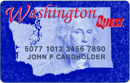 """""""Washington EBT Card"""""""