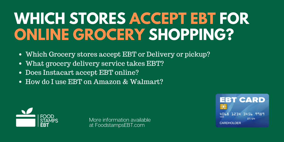 """""""Where You Can Shop for Groceries Online with SNAP EBT"""""""